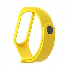 Ремешок для для фитнес браслета Mi Band 3 Yellow (604886)