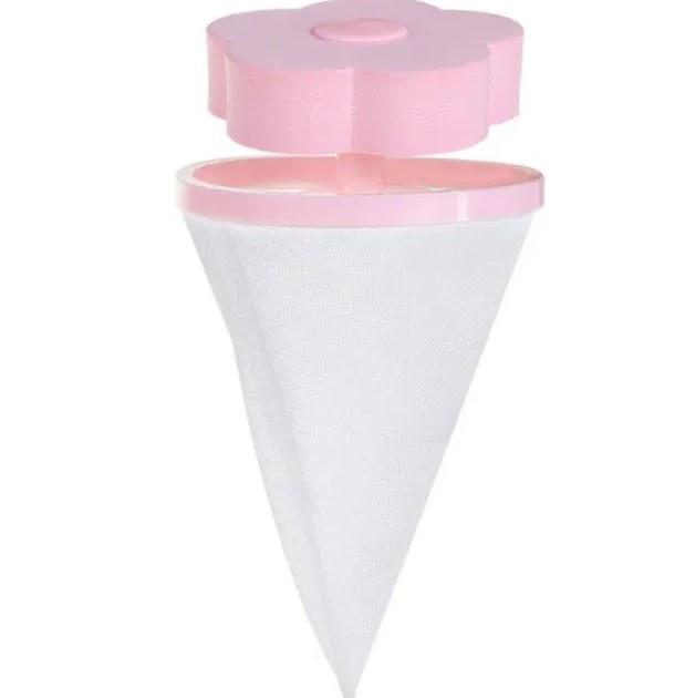Мешок-фильтр для сбора мусора в стиральной машине Aquafilter Flower Розовый (46132)