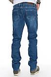 """Мужские джинсы Franco Benussi 21-362 Torino L 36"""" синие, фото 5"""