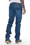"""Мужские джинсы Franco Benussi 21-362 Torino L 36"""" синие, фото 3"""