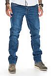 """Мужские джинсы Franco Benussi 21-362 Torino L 36"""" синие, фото 4"""