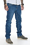 """Мужские джинсы Franco Benussi 21-362 Torino L 36"""" синие, фото 7"""