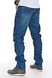 """Мужские джинсы Franco Benussi 21-362 Torino L 36"""" синие, фото 8"""