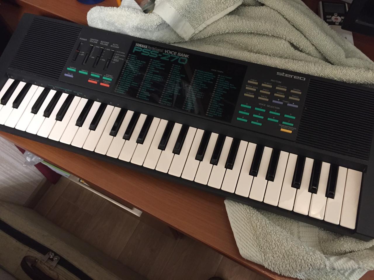 Мини синтезатор, ученический, Yamaha Porta Sound, PSS-270