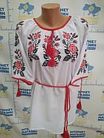 "Вишита жіноча блузка ""Трояндове диво"", фото 1"