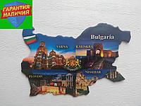 Сувенирный магнит на холодильник Болгария Магниты с Европы