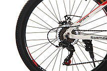 Велосипед 26 Remmy ASTOR 15 AM DD біло-червоний глянець, фото 3