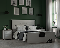 Спальня МДФ (Кровать двуспальная, тумбы прикроватные 2шт.)