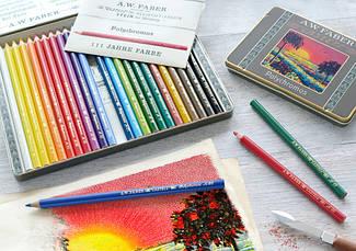 Лимитированные наборы цветных карандашей Polychromos
