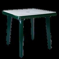 Стол квадратный зеленый (Алеана)