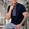 Чоловіча вишита футболка з орнаментом, фото 6
