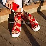 Женские босоножки на завязках Последний размер 41, фото 3