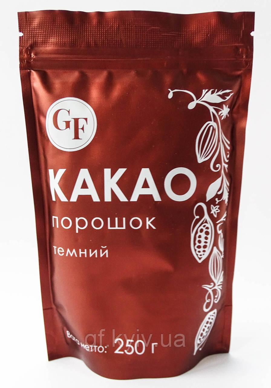 Какао-порошок 250г алкализированный 10-12% Olam Cocoa Германия для напитков и кондитерских изделий S9