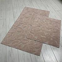 Набор ковриков в ванную комнату 2шт Zerya
