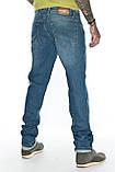 """Мужские джинсы Franco Benussi 21-370 Torino L 36"""" синие, фото 2"""