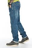 """Мужские джинсы Franco Benussi 21-370 Torino L 36"""" синие, фото 6"""