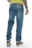 """Мужские джинсы Franco Benussi 21-370 Torino L 36"""" синие, фото 9"""