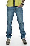 """Мужские джинсы Franco Benussi 21-370 Torino L 36"""" синие, фото 7"""