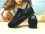 Мужские кроссовки Reebok classic (реплика) черные 42 р., фото 4