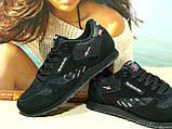 Мужские кроссовки Reebok classic (реплика) черные 42 р., фото 5