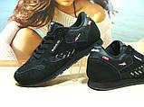 Мужские кроссовки Reebok classic (реплика) черные 42 р., фото 6