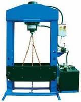 Пресс электрогидравлический 150 тонн PRM150PM WERTHER (Италия)