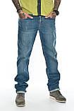"""Мужские джинсы Franco Benussi 21-370 Torino L 36"""" синие, фото 5"""