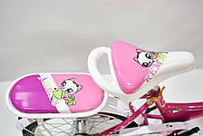 """Велосипед 16""""- Remmy LUCY рожевий (глянець), фото 3"""