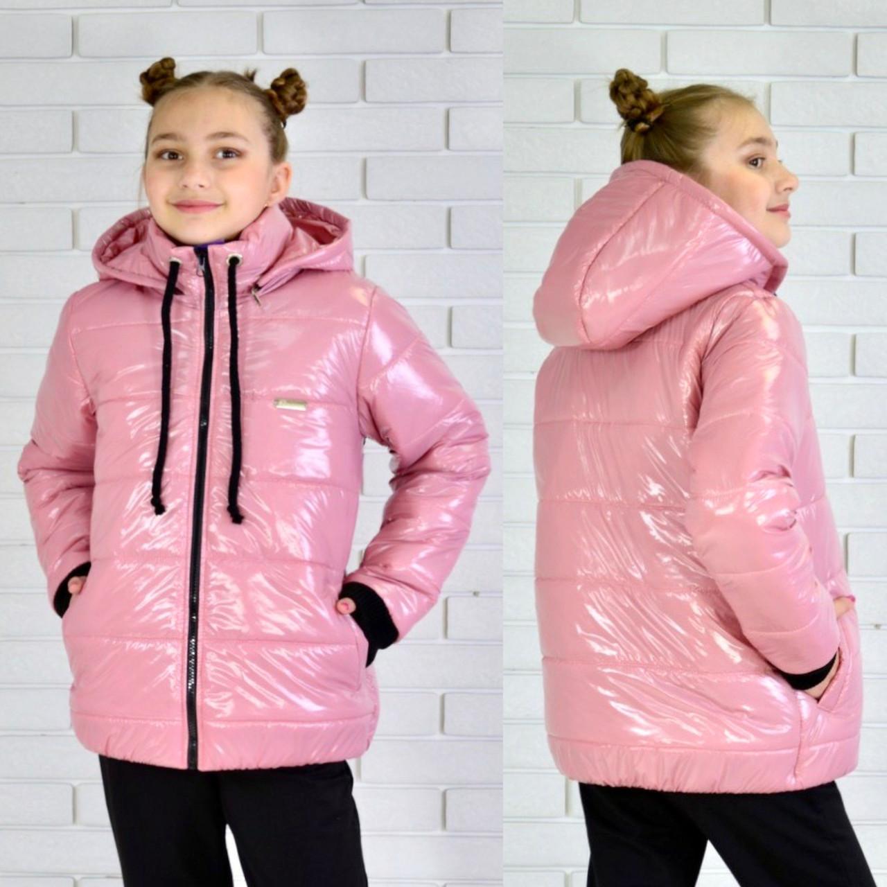 Куртка демисезонная на девочку ЕВА 122, 128, 134, 140