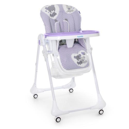 Детский cтульчик-трансформер для кормления M 3233 Taddy Lilac