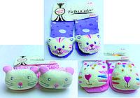 Хлопковые носочки с игрушкой на мыске для детей от 6 месяцев до 12 месяцев Ассорти 1