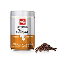 Кофе в зёрнах illy Etiopia 250 грамм в жестяной банке