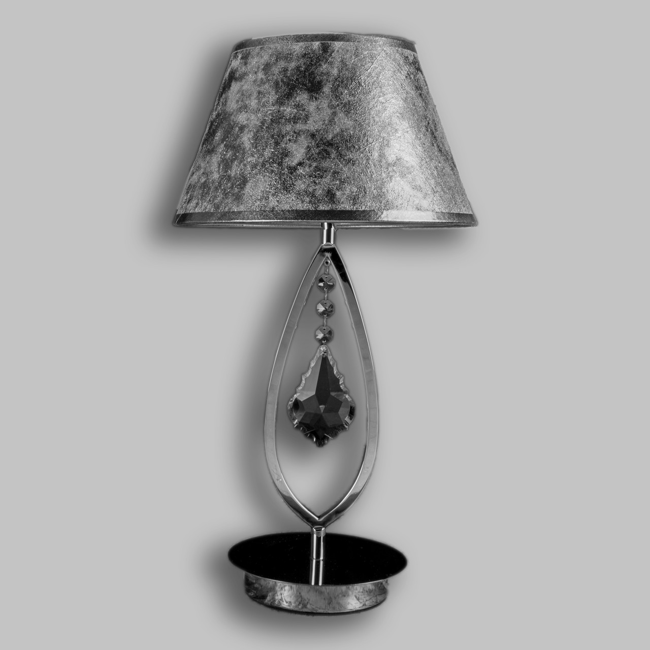 Настільна лампа з абажуром P13-5241/1T/CH
