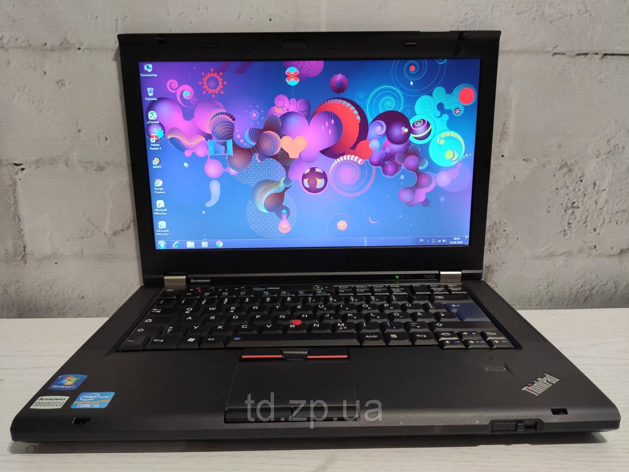 Ноутбук Lenovo T420i 14,1' Intel Core i5-2350m / DDR 3 4Gb /HDD 320 / HD 3000