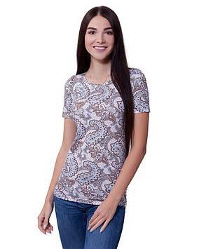 Довга літня футболка жіноча (розміри XS-3XL)