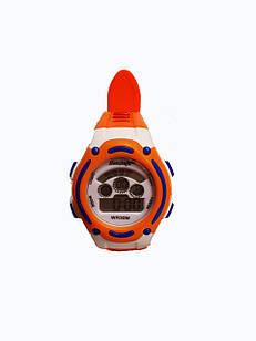 Детские электронные часы Haozhufu lines Оранжевые (Hzh-1025O)