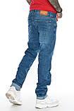 """Джинсы мужские длинные Franco Benussi 21-366 TORINO L 36""""синие., фото 5"""