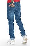 """Джинсы мужские длинные Franco Benussi 21-366 TORINO L 36""""синие., фото 10"""