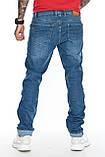 """Джинсы мужские длинные Franco Benussi 21-366 TORINO L 36""""синие., фото 2"""