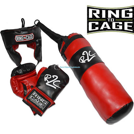 Боксерский набор для детей RING TO CAGE Set RCKBS, фото 2