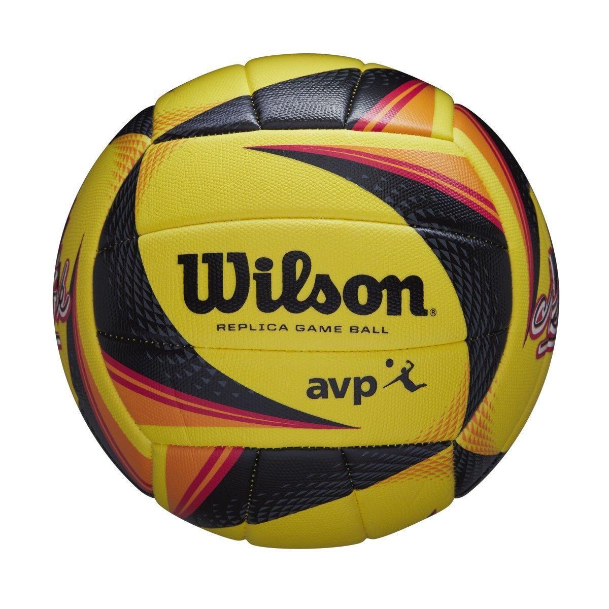 Мяч пляжный волейбольный Wilson OPTX AVP VB REPICA NYC SS20 (WTH01120XB)