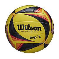 Мяч пляжный волейбольный Wilson OPTX AVP VB REPICA NYC SS20 (WTH01120XB), фото 1