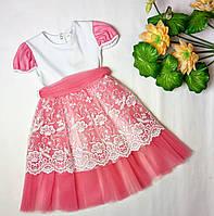 Нарядное летние платье на девочку, фото 1