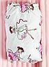 Летний набор в кроватку 3в1 Балерины, фото 2