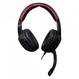 Навушники Геймерські JEDEL 9905 провідні з мікрофоном і підсвіткою, фото 4