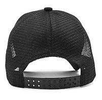 Черная кепка тракер с принтом Даффи Дак, фото 6
