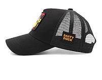 Черная кепка тракер с принтом Даффи Дак, фото 5