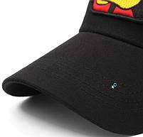 Черная кепка тракер с принтом Даффи Дак, фото 7