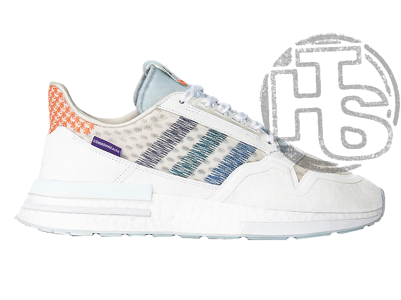Женские кроссовки Adidas ZX500 RM Commonwealth Footwear White/Clear Mint DB3510