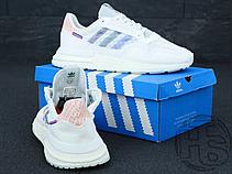 Женские кроссовки Adidas ZX500 RM Commonwealth Footwear White/Clear Mint DB3510, фото 3